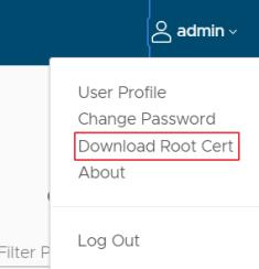 Download root CA